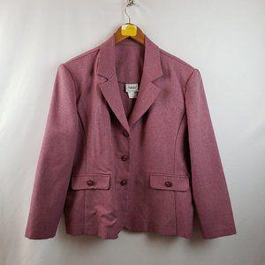 Nikki Vintage Blazer Suit Jacket Sz 16P Pink